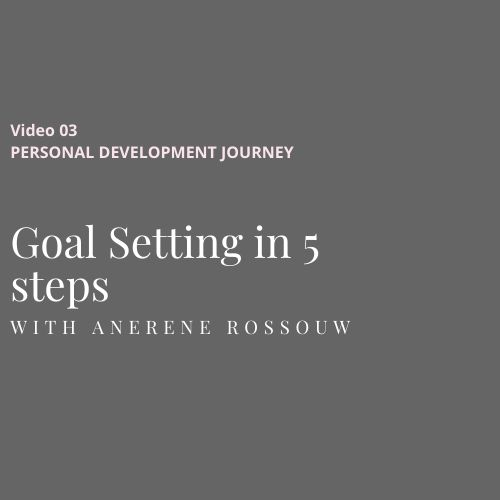 Goal setting in 5 steps